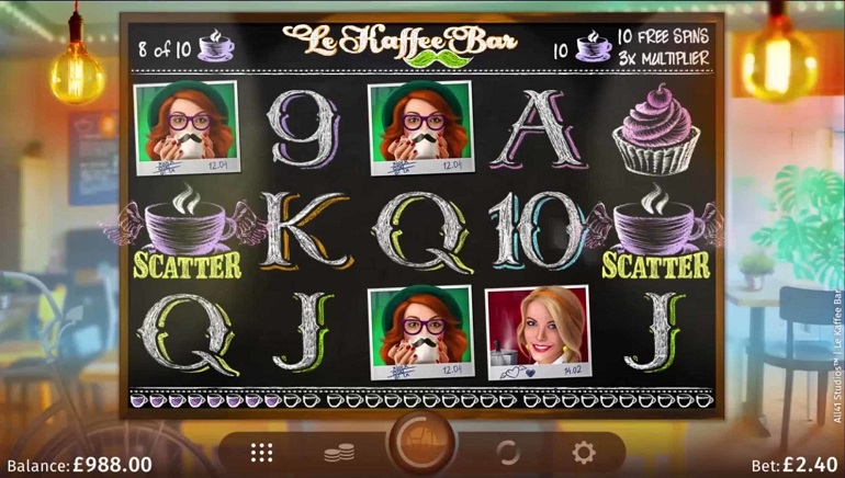Slot Review: Le Kaffee Bar by Microgaming