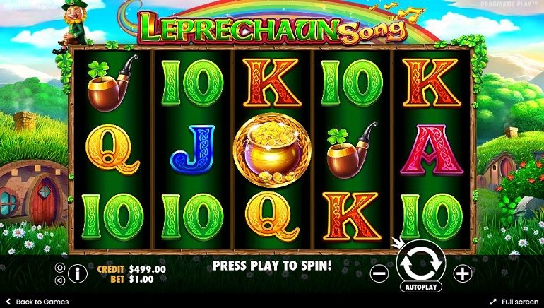 Irish Eyes Smile On The Leprechaun Song Slot From Pragmatic Play