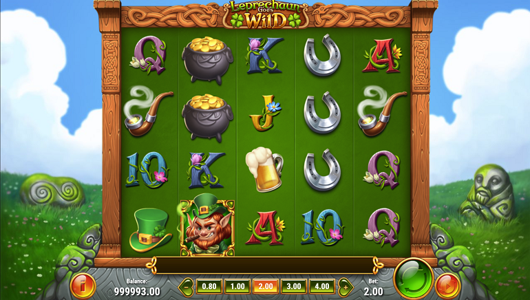 Play'N GO Sprinkles Some Magic Dust to Create Leprechaun Goes Wild Slot