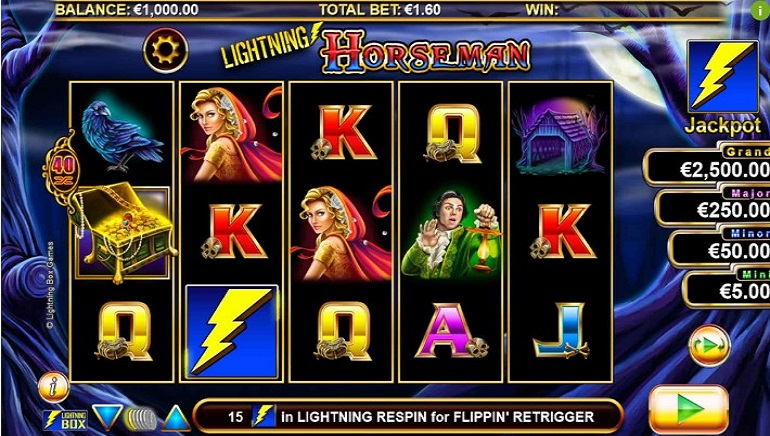 Slot Review: Lightning Horseman by Lightning Box Games