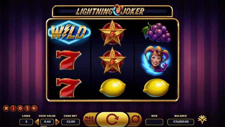 Strike Lucky With Yggdrasil's New Lightning Joker Online Slot