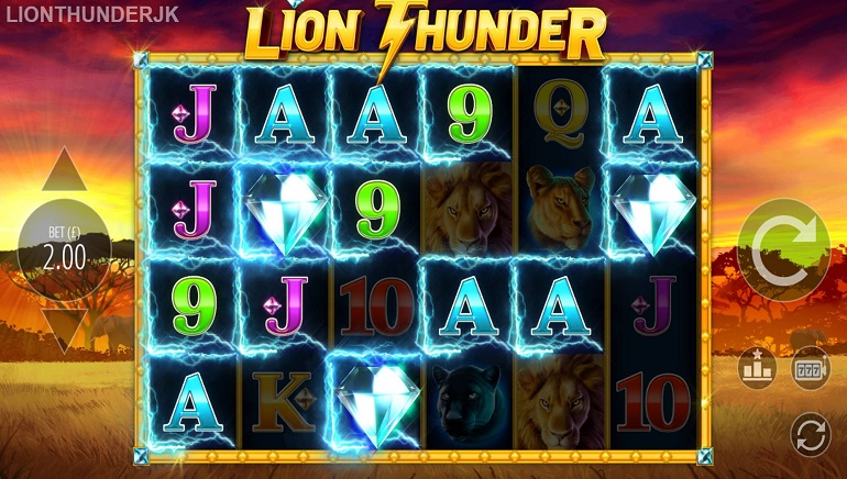 Blueprint Roars with Lion Thunder Slot Game