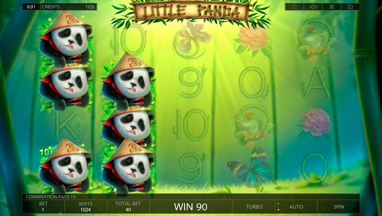 Little Panda Slot is Now Wild at Endorphina Casinos