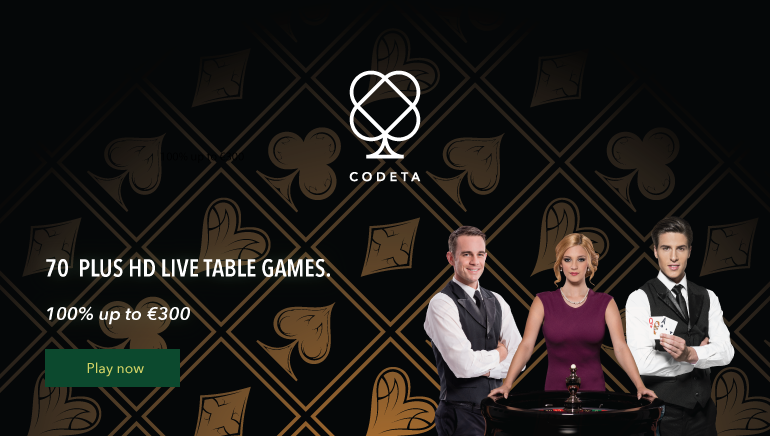 Try Codeta Casino's Enormous Live Dealer Suite