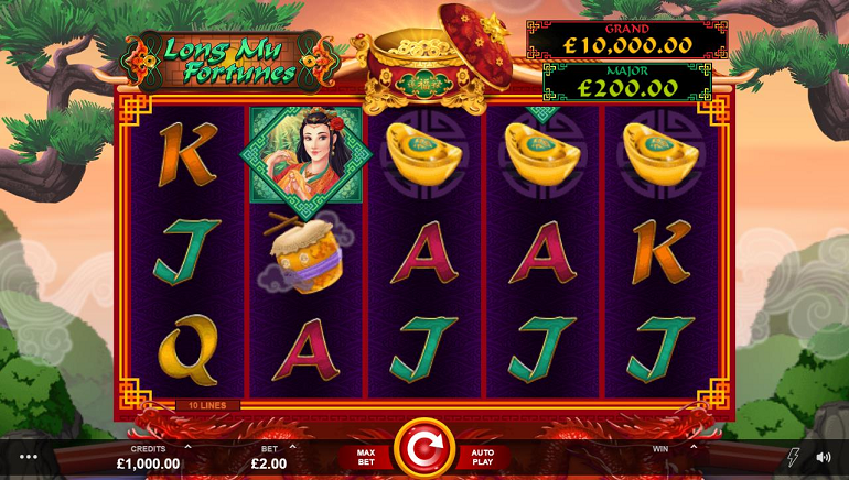 Roll with the Chinese Gods: Microgaming's New Long Mu Fortunes Slot
