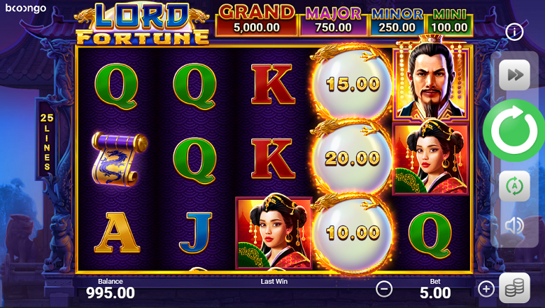 Booongo Launches Lord Fortune Slot