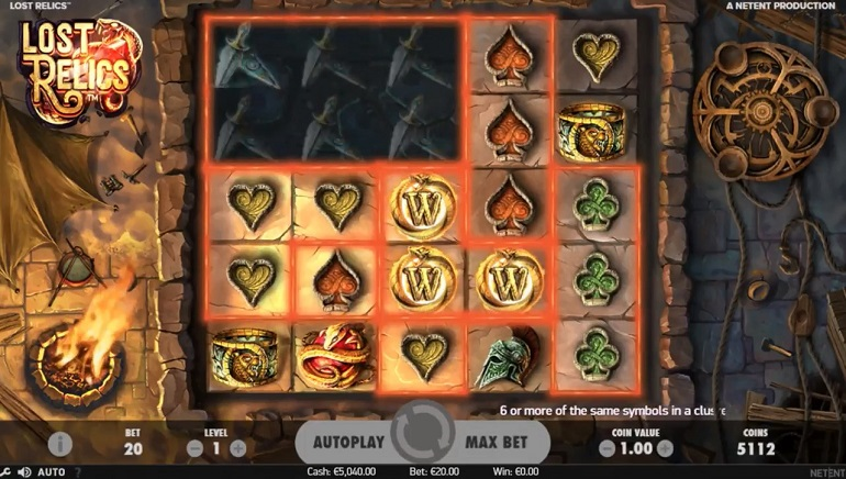 Slot Review: Lost Relics by NetEnt