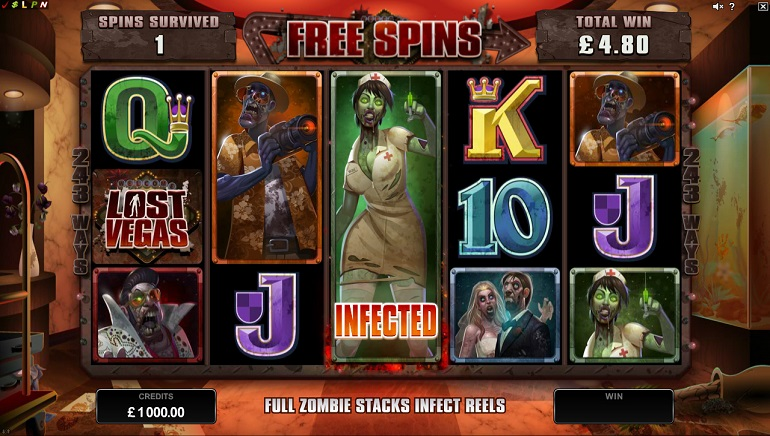Lost Vegas: New Zombie Themed Slot From Microgaming Unleashed