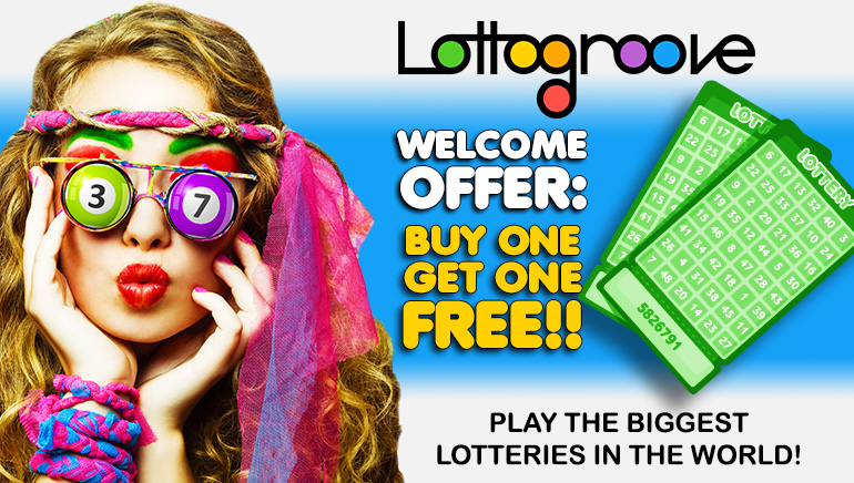 Buy One Get One Free on Lottery Tickets with Lottogroove