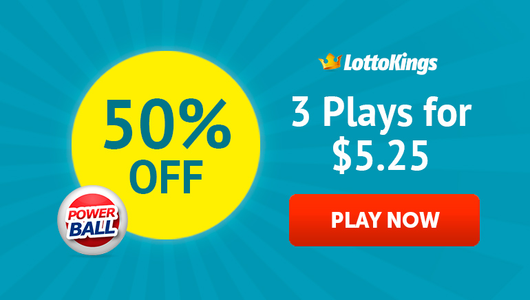 Get Your 50% Discount at LottoKings: 3 Plays for Just $5.25