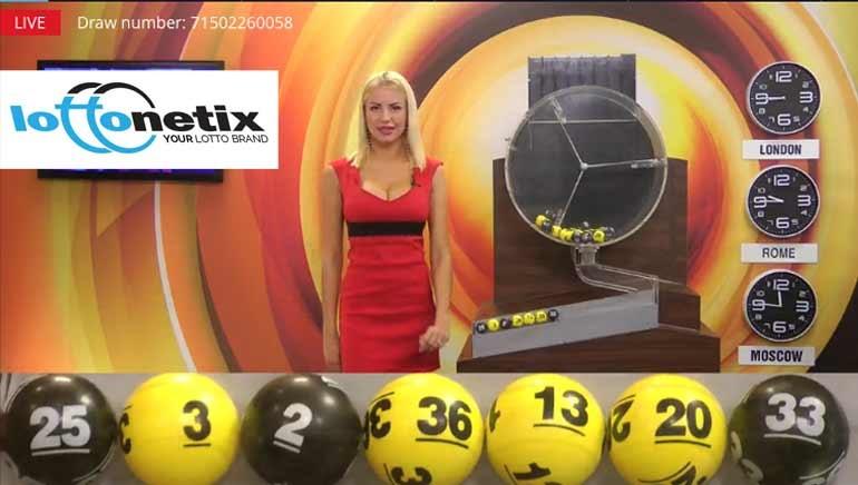 Lottonetix Brings Live Lottery Games Online