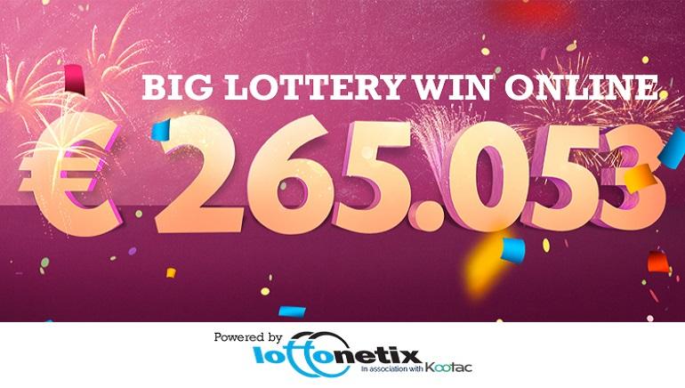 Italian Woman Wins Jackpot with Online Lottery Ticket