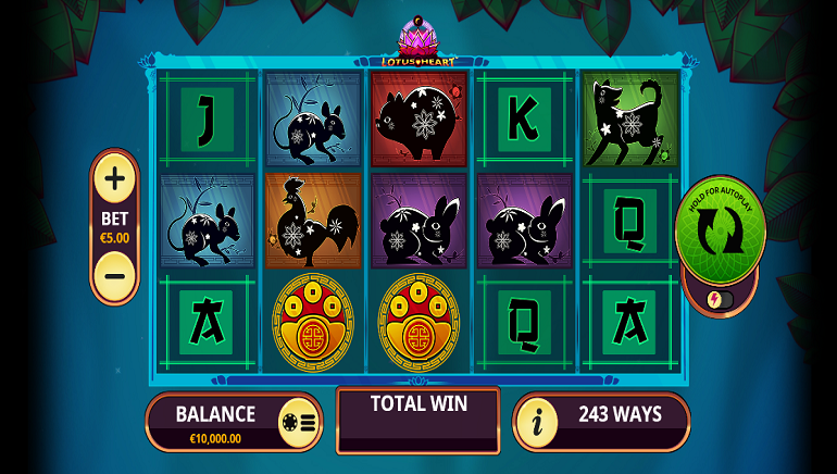 Slot Review: Lotus Heart by Playtech