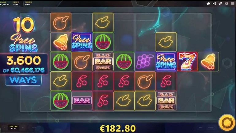 Lasers and Fruits Get Together in Red Tiger Gaming's New Slot