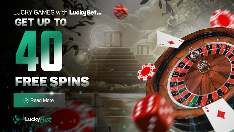 Unlock 40 Free Spins at Luckybet Casino