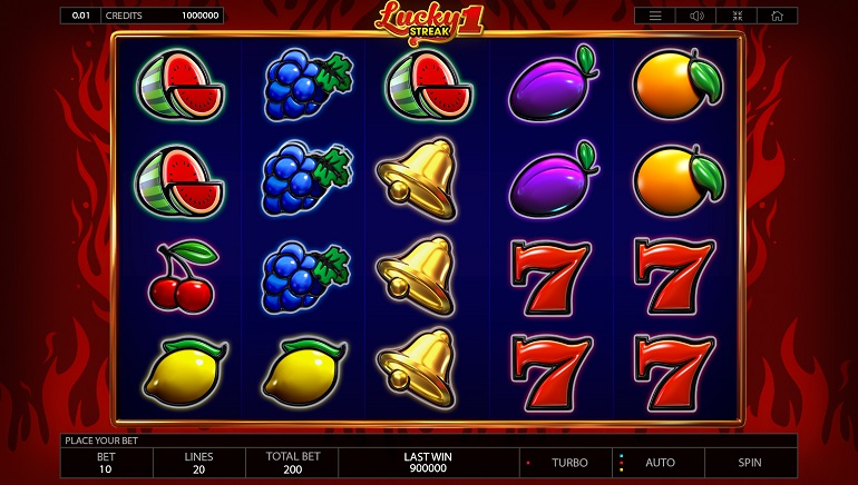 Lucky Streak 1 Slot Arrives at Endorphina Casinos