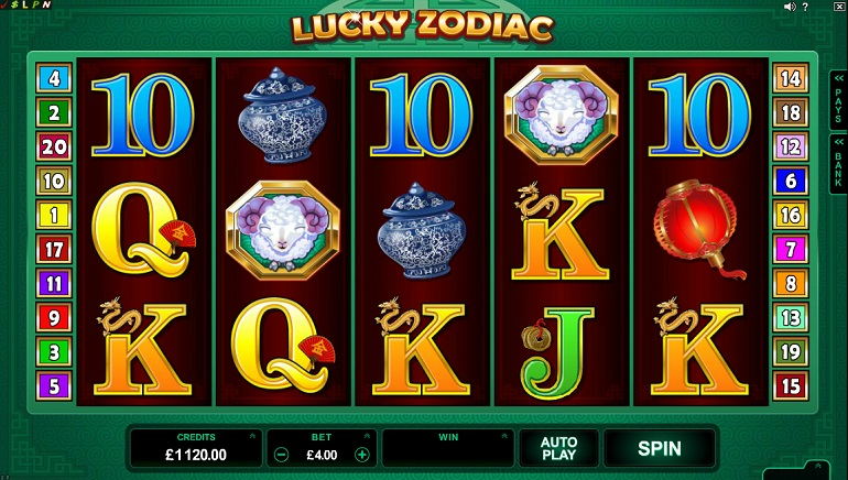 New Slots Games At Crazy Vegas Casino: Lucky Zodiac and Rugby Star
