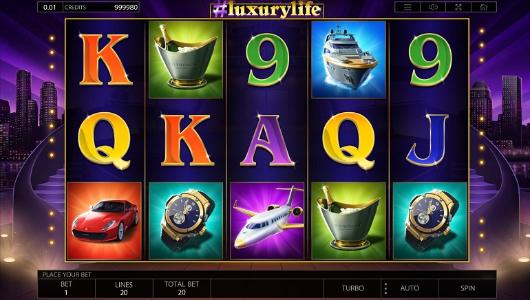 Endorphina Showcases The High Life In The New #luxurylife Slot Game