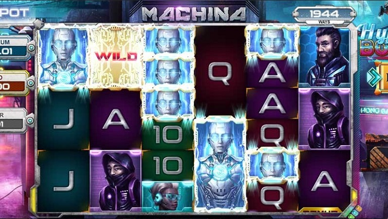 Kalamba Games Completes Release of Machina Slot