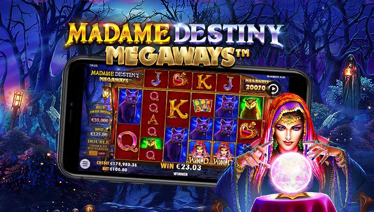 Pragmatic Play's Madame Destiny Megaways™ Delivers Spellbinding Entertainment