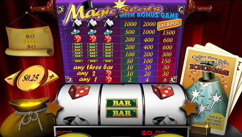 Magic Slots Progressive
