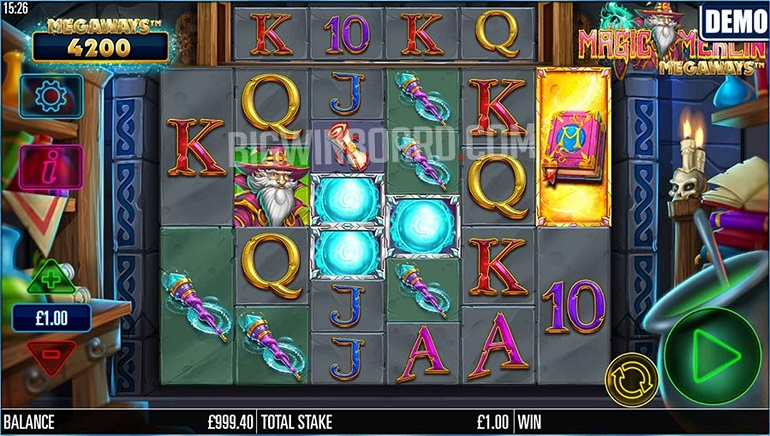 Slot Review: Magic Merlin Megaways from Microgaming and Storm Gaming