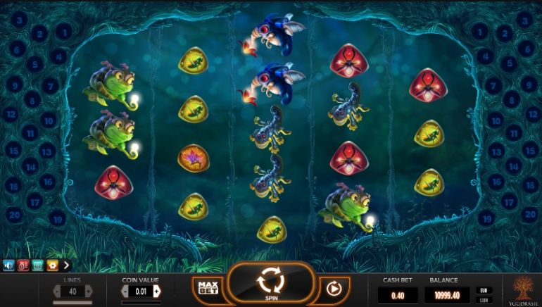 Yggdrasil Gaming Releases Unique New Slot, Magic Mushrooms