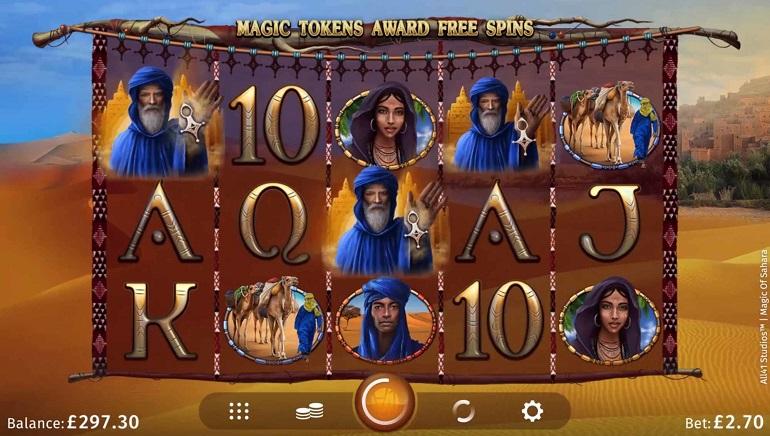 Slot Review: Magic of Sahara from Microgaming