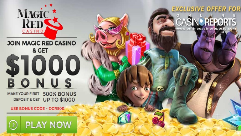 Exclusive Bonus Offer From Magic Red Casino