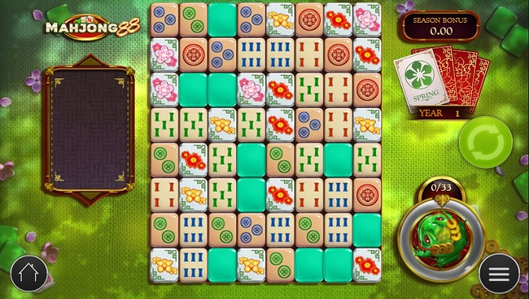 Play'n GO's New Mahjong 88 Slot Features 8x8 Grid