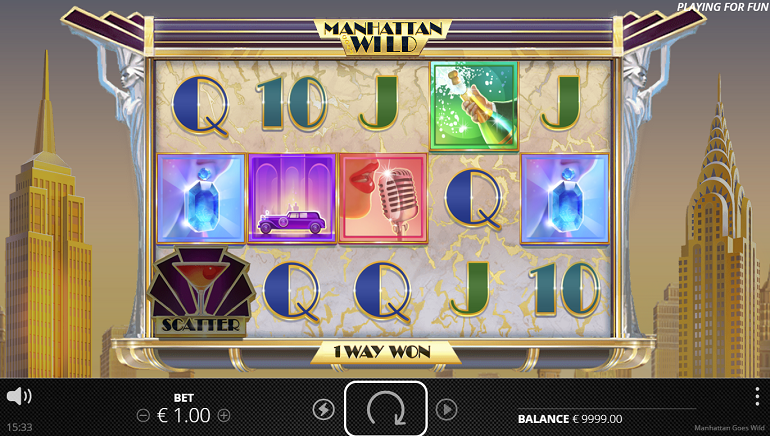 The Big Apple Sparkles with Manhattan Wild Slot by NoLimit City