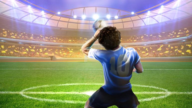 Maradona Hyperways Slot Developed by GameArt