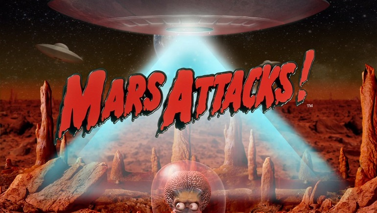 Mars Attacks!™ by Blueprint Gaming Invades Online Casinos