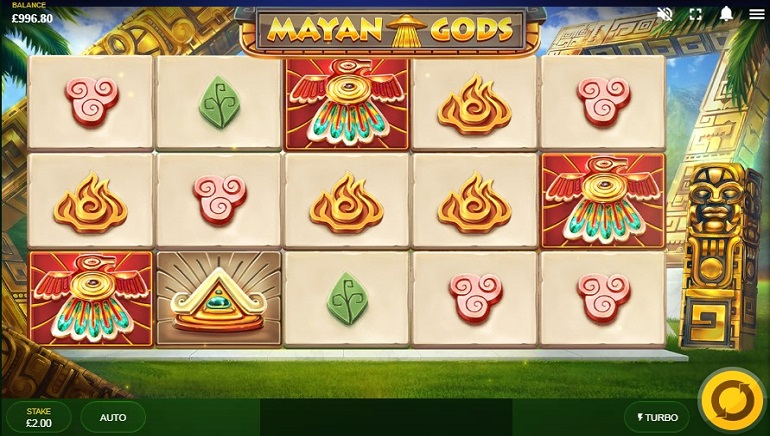 Mayan Gods from Red Tiger Gaming Releases