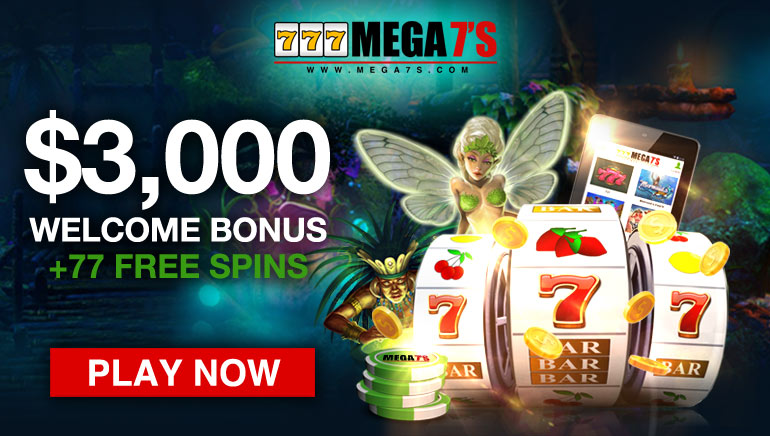 Mega 7's Casino Hits it Out the Park with $3,000 Welcome Bonus + 77 Spins