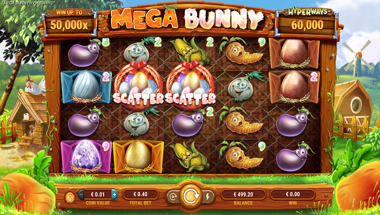 Mega Bunny Slot From GameArt Debuts HyperWays Mechanism