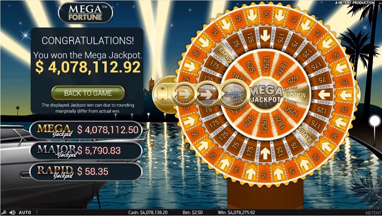 German Player Hits €3.5 Million Mega Fortune Jackpot