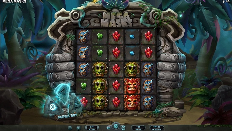 Relax Gaming Unveils New Feature in New Mega Masks Slot
