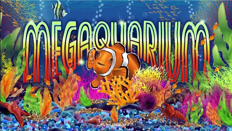Realtime Gaming Release Fish-Themed Slot Megaquarium