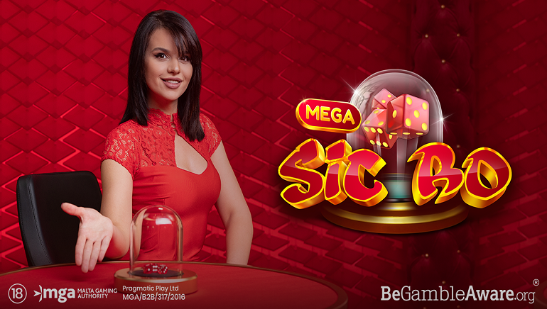 Mega Sic Bo by Pragmatic Play is the Latest Live Casino Game