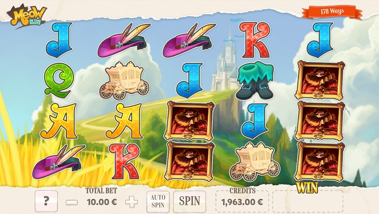 Fantasy-Themed Fun with Meow in the Boots Slot by Gaming1