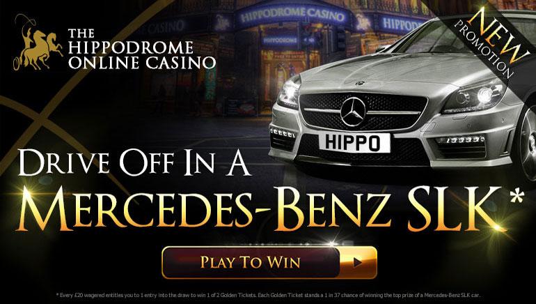 Win a Brand New Mercedes Sports Car at Hippodrome Casino