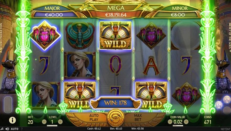 Seek Egyptian Treasure in NetEnt's New Mercy of the Gods Slot