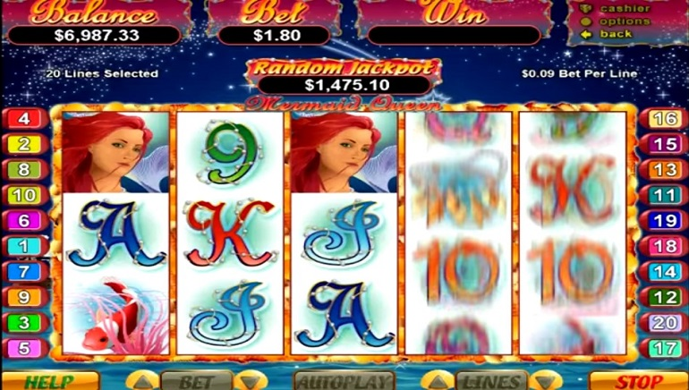 Mermaid Queen Slot Arrives on RTG Mobile Casinos