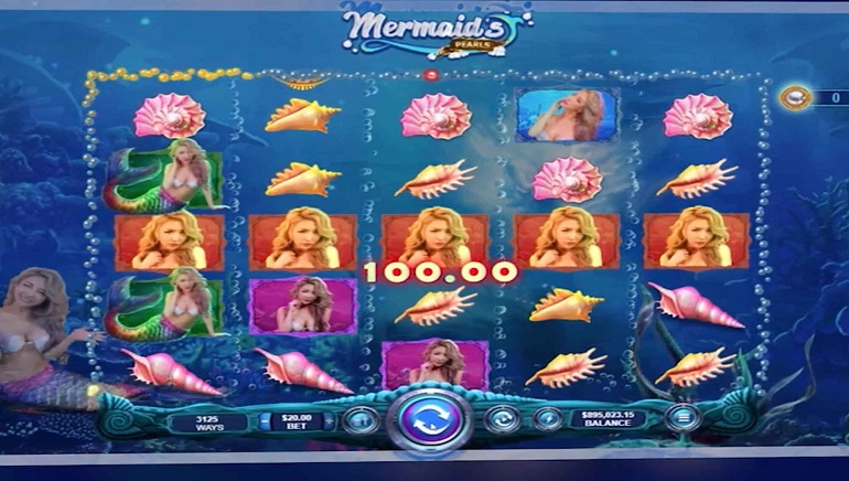 Mermaid's Pearls Slot Gets June Release from Real Time Gaming