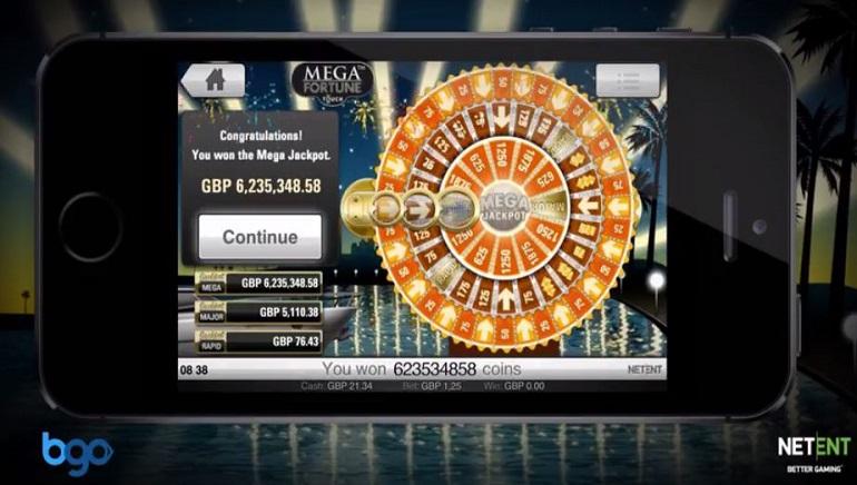 bgo Player Cracks Mega Fortune Jackpot for £6.2 Million