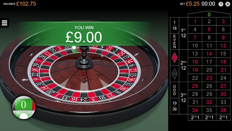 New Microgaming Roulette Game Developed by Switch Studios