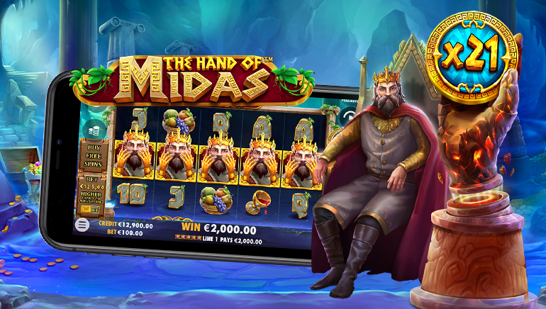 Pragmatic Play Shows it has the Golden Touch with The Hand of Midas Slot Game