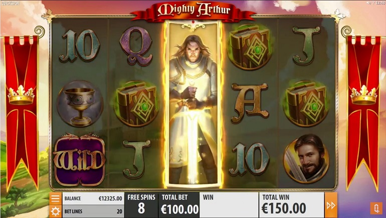 Epic Medieval Action with Quickspin's New Mighty Arthur Slot