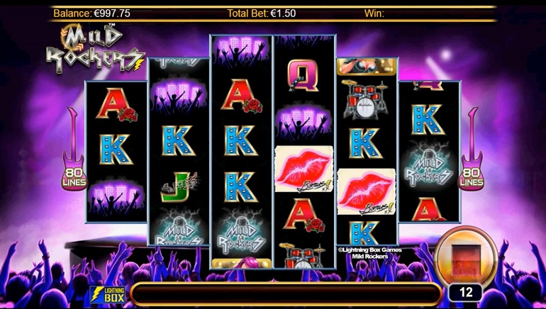 Mild Rockers Slot - Play the Free Casino Game Online
